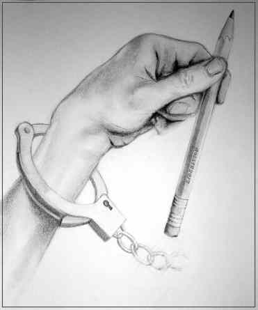 Shackles (Pencil on Paper)