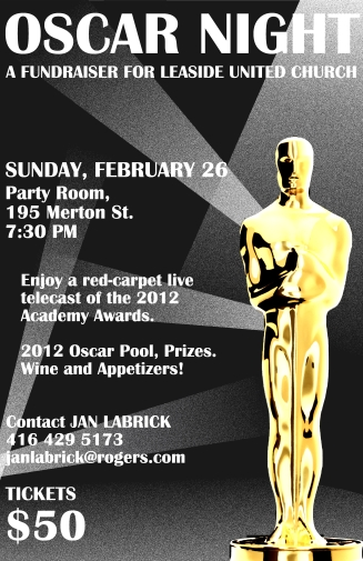"""Oscar Night"" Poster"