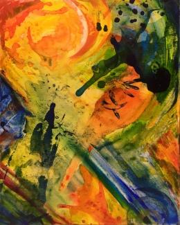 Splendor Solis (Acrylic on Canvas)