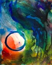 The Circle (Acrylic on Canvas)
